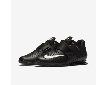 Nike Romaleos 3 Weightlifting Mens Shoes Black/White Style: 852933-002