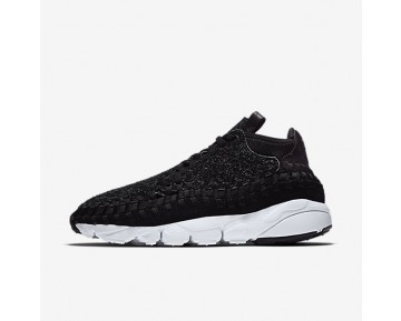 NikeLab Air Footscape Woven Chukka QS Mens Shoes Anthracite/White/Black/Black Style: 913929-001