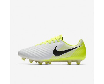 Nike Magista Opus II AG-PRO Mens Shoes White/Volt/Wolf Grey/Black Style: 843814-107