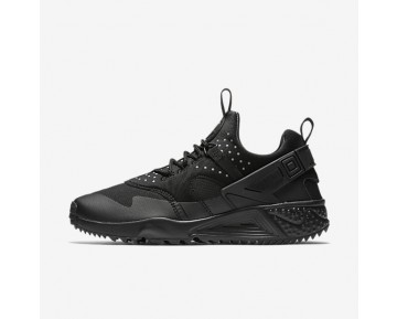 Nike Air Huarache Utility Mens Shoes Black/Black/Black Style: 806807-004
