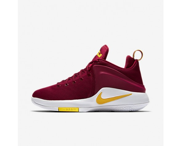 Nike Lebron Witness Mens Shoes Team Red/White/University Gold Style: 852439-601