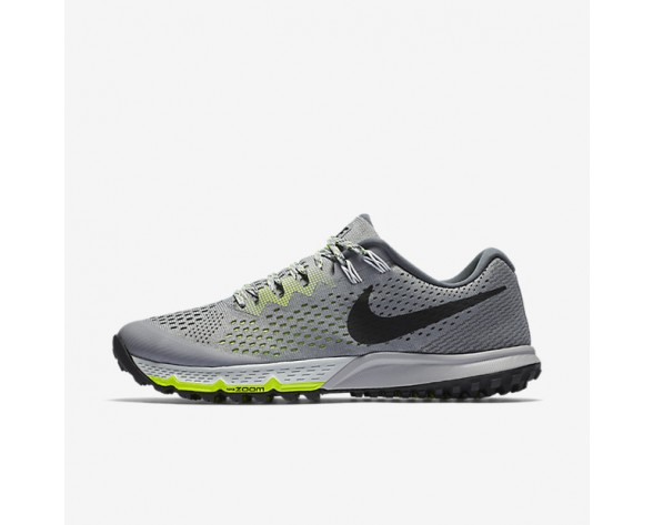 Nike Air Zoom Terra Kiger 4 Mens Shoes Stealth/Dark Grey/Volt/Black Style: 880563-002