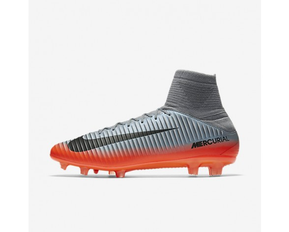 Nike Mercurial Veloce III Dynamic Fit CR7 FG Mens Shoes Cool Grey/Wolf Grey/Total Crimson/Metallic Hematite Style: 852518-001
