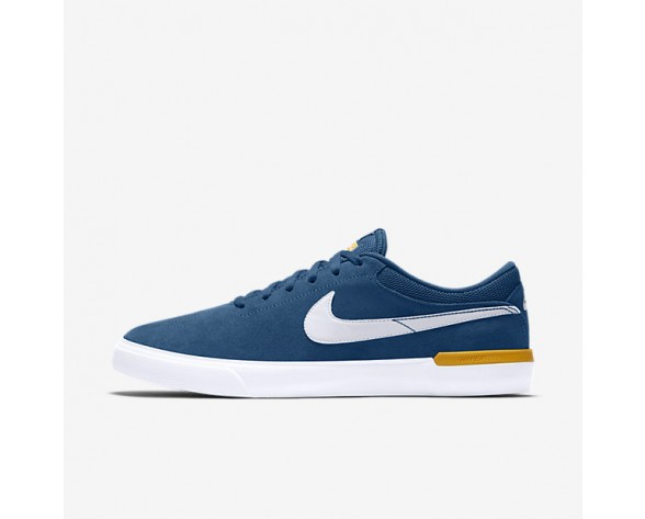 Nike SB Koston Hypervulc Mens Shoes Industrial Blue/University Gold/White Style: 844447-417