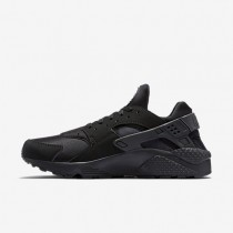 Nike Air Huarache Mens Shoes Black/White/Black Style: 318429-003
