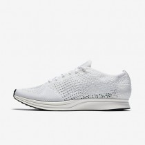 Nike Flyknit Racer Mens Shoes White/Sail/Pure Platinum/White Style: 526628-100