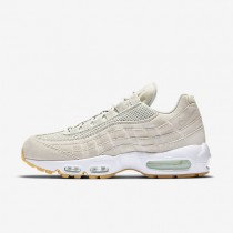 Nike Air Max 95 Premium Mens Shoes Light Bone/Barely Green/White/Light Bone Style: 538416-003
