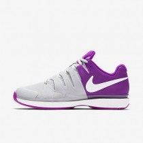 NikeCourt Zoom Vapor 9.5 Tour Womens Shoes Pure Platinum/Vivid Purple/White/White Style: 631475-003