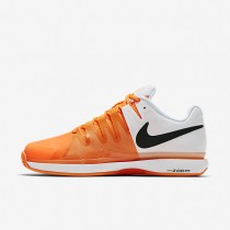 NikeCourt Zoom Vapor 9.5 Tour Clay Womens Shoes Tart/White/Black/Black Style: 649087-800
