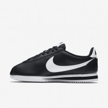 Nike Classic Cortez Womens Shoes Black/White/White Style: 807471-010