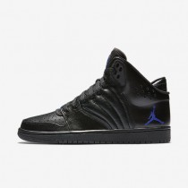 Jordan 1 Flight 4 Mens Shoes Black/Concord Style: 820135-014