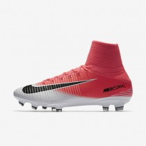 Nike Mercurial Superfly V FG Mens Shoes Racer Pink/White/Black Style: 831940-601
