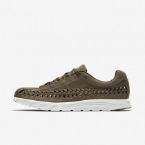 Nike Mayfly Woven Mens Shoes Medium Olive/Black/Light Bone Style: 833132-200