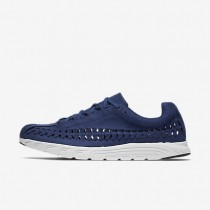 Nike Mayfly Woven Mens Shoes Coastal Blue/Off-White/Black Style: 833132-400