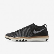Nike Free Transform Flyknit Womens Shoes Black/Metallic Red Bronze/Summit White/Cool Grey Style: 833410-005