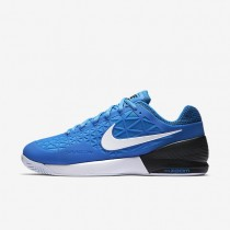 NikeCourt Zoom Cage 2 Mens Shoes Light Photo Blue/Black/White Style: 844960-403