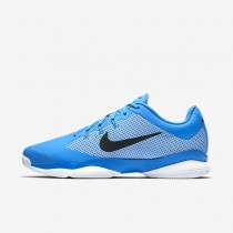 NikeCourt Air Zoom Ultra Mens Shoes Light Photo Blue/White/Black/Black Style: 845007-403