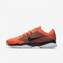 NikeCourt Air Zoom Ultra Mens Shoes Hyper Orange/White/Black Style: 845007-801