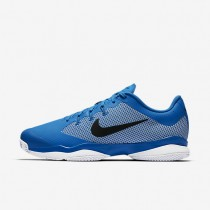 NikeCourt Air Zoom Ultra Clay Mens Shoes Light Photo Blue/White/Black/Black Style: 845008-401