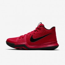 Kyrie 3 Mens Shoes University Red/Team Red/Black Style: 852395-600