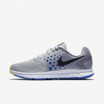 Nike Air Zoom Span Mens Shoes Wolf Grey/Hyper Cobalt/Pure Platinum/Black Style: 852437-006
