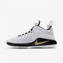 Nike Lebron Witness Mens Shoes White/Black/Wolf Grey/Metallic Gold Style: 852439-102