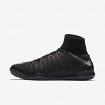 Nike HypervenomX Proximo II Dynamic Fit IC Mens Shoes Black/Black/Anthracite/Metallic Silver Style: 852577-001