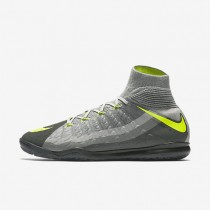 Nike HypervenomX Proximo II Dynamic Fit IC Mens Shoes Black/Dark Grey/Wolf Grey/Volt Style: 852577-071