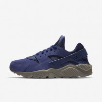 Nike Air Huarache SE Mens Shoes Binary Blue/Dark Mushroom/Electrolime/Binary Blue Style: 852628-400