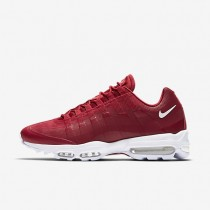 Nike Air Max 95 Ultra Essential Mens Shoes Gym Red/White/White Style: 857910-600