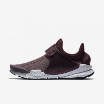 Nike Sock Dart SE Premium Mens Shoes Night Maroon/University Red/White/Night Maroon Style: 859553-600