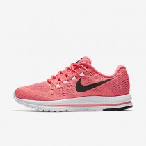 Nike Air Zoom Vomero 12 Womens Shoes Lava Glow/Racer Pink/Sunset Glow/Black Style: 863766-601