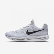 Nike LunarEpic Low Flyknit 2 Womens Shoes White/Pure Platinum/Wolf Grey/Black Style: 863780-100
