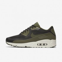 Nike Air Max 90 Ultra 2.0 Essential Mens Shoes Black/Sail/Legion Green Style: 875695-004