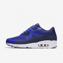 Nike Air Max 90 Ultra 2.0 Essential Mens Shoes Paramount Blue/White/Binary Blue Style: 875695-400