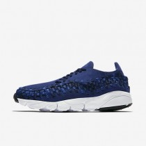 Nike Air Footscape Woven NM Mens Shoes Binary Blue/Black/Team Royal Style: 875797-400