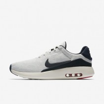 Nike Air Max Modern Flyknit Mens Shoes Sail/Pure Platinum/University Red/Obsidian Style: 876066-100