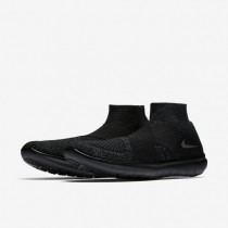 Nike Free RN Motion Flyknit 2017 Mens Shoes Black/Anthracite/Volt/Dark Grey Style: 880845-003