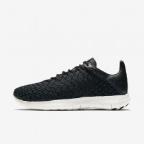 NikeLab Free Inneva Motion Woven Mens Shoes Black/Thunder Blue/Black Style: 894989-002