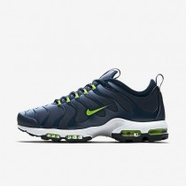 Nike Air Max Plus Tn Ultra Mens Shoes Blue Grey/Armoury Navy/White/Electric Green Style: 898015-400