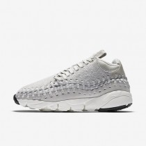 NikeLab Air Footscape Woven Chukka QS Mens Shoes Light Bone/Summit White/Light Bone Style: 913929-002