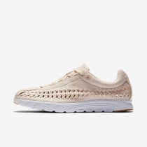 Nike Mayfly Woven QS Womens Shoes Barely Orange/White/Gum Yellow/Barely Orange Style: 919749-800
