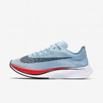 Nike Zoom Vaporfly 4% Running Mens Shoes Ice Blue/Bright Crimson/University Red/Blue Fox Style: 880847-401