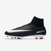 Nike Mercurial Victory Vi Dynamic Fit Fg Firm-Ground Football Boot Mens Shoes Black/Dark Grey/University Red/White Style: 903609-002