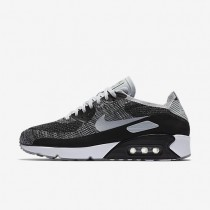 Nike Air Max 90 Ultra 2.0 Flyknit Mens Shoes Black/Pure Platinum/Dark Grey/Wolf Grey Style: 875943-005