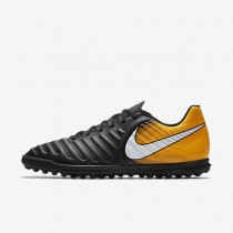 Nike Tiempox Rio Iv Tf Artificial-Turf Football Mens Shoes Black/Laser Orange/Volt/White Style: 897770-008