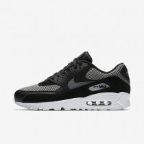 Nike Air Max 90 Essential Mens Shoes Black/Dark Grey/Chrome/Dark Grey Style: 537384-075