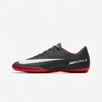 Nike Mercurial Victory Vi Ic Indoor/Court Football Mens Shoes Black/Dark Grey/University Red/White Style: 831966-002
