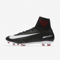 Nike Mercurial Superfly V Fg Firm-Ground Football Boot Mens Shoes Black/Dark Grey/White Style: 831940-002