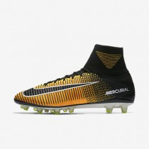 Nike Mercurial Superfly V Ag-Pro Artificial-Grass Football Boot Mens Shoes Laser Orange/White/Volt/Black Style: 831955-801